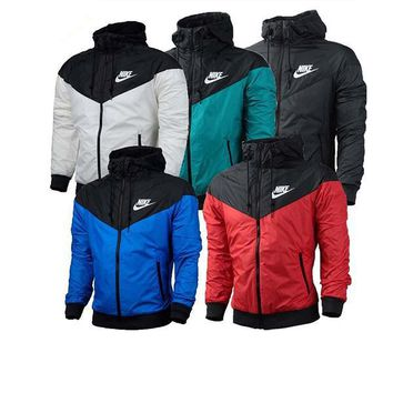 Nike Men/Women Outdoor Sports Zipper Hoodies Jackets Windbreaker Coat - Best Deal Online