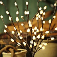 Corded Willow Branch with 60 Incandescent Lights