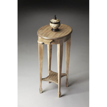 Butler Specialty Company 1483247 Driftwood Lower Shelf/Pull Out Tray Accent Table