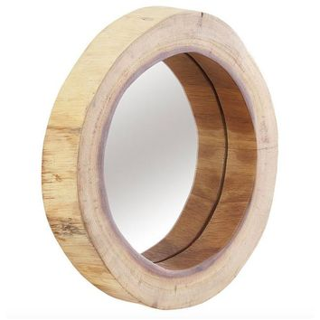 Chamcha Wood Mirror