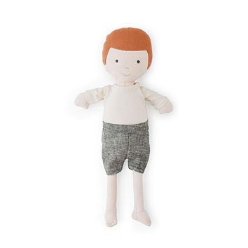 Charlie Organic Boy Doll by Hazel Village