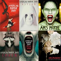 American Horror Story DVD Seasons 1-6 Set
