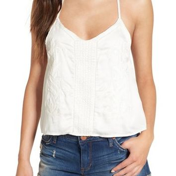 Amuse Society 'Cadence' Embroidered Tank | Nordstrom