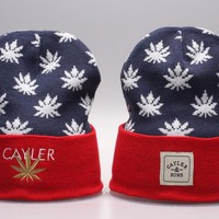 Perfect CAYLER & SONS Print Women Men Hip hop Beanies Winter Knit Hat Cap
