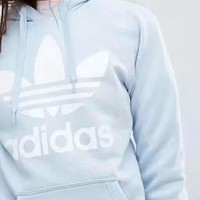 Adidas Fashion Casual Print Women's Long Sleeve Hoodies Sweater G-A-GHSY-1