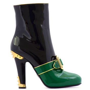 PRADA Colorblock Ankle boots