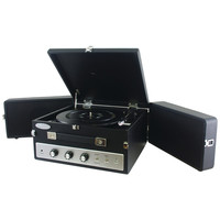 Pyle Retro-style Bluetooth Turntable Record Player With Vinyl To Mp3 Recording