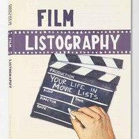 Film Listography Journal - Assorted One