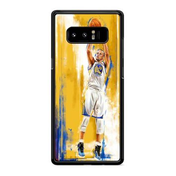 Stephen Curry 6 Samsung Galaxy Note 8 Case