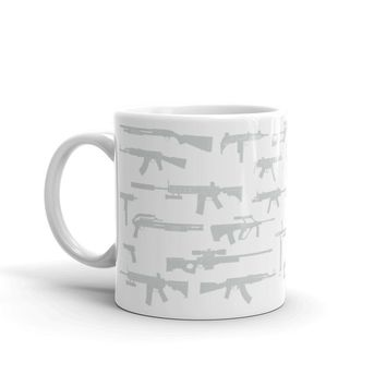 The Gun Grey Coffee Mug