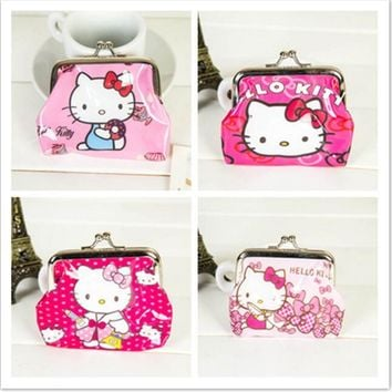 Cute Hello Kitty Coin Purse/ Pink