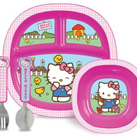 Munchkin Hello Kitty Toddler Dining Set