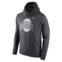 Nike College Hybrid Fleece Pullover (Ohio State) Men's Hoodie