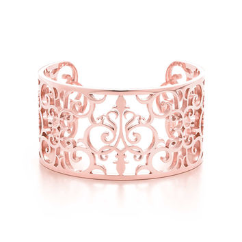 Tiffany & Co. - Tiffany Enchant™ cuff in RUBEDO® metal, medium.