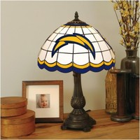 San Diego Chargers Tiffany Table Lamp