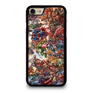 MARVEL AND DC SUPERHEROES Case for iPhone iPod Samsung Galaxy