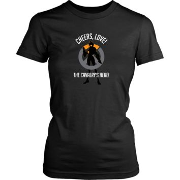 Overwatch Tracer Cheers Love Women's T-Shirt
