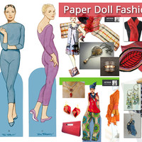 Artizan Made's Holiday Paper Doll Fashion Show