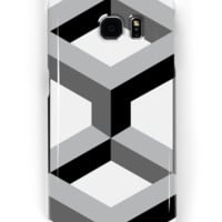 'Geometric Love' Samsung Galaxy Case/Skin by PeaceLuvJoy