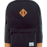 Herschel, Heritage Suede Backpack - Black - Herschel Supply - MOOSE Limited