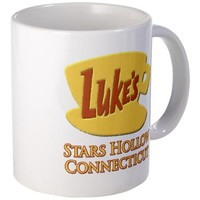 Luke's Diner Stars Hollow Gilmore Girls Mug on CafePress.com