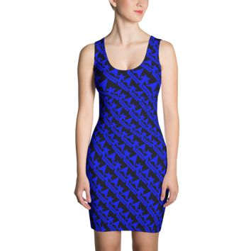 Pattern Crown Logo (Royal Blue)Dress