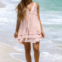 Avon Beach Blush Layered Dress