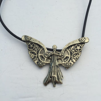 The Infernal Devices Tessa's Clockwork Angel Necklace
