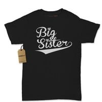 Big Sister Sibling Womens T-shirt