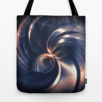 Abstraction Tote Bag by Cinema4design