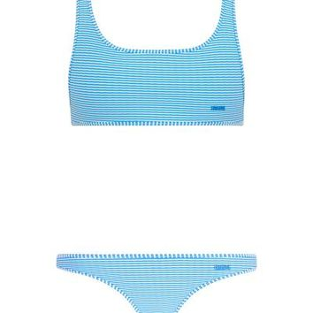 VALENTINE - STRIPE BLUE *IN REGULAR OR CHEEKY BUM* - TOP