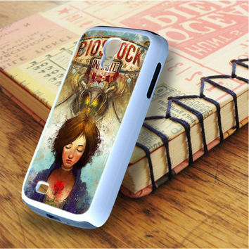 Briliant Bioshock Infinite Poster Samsung Galaxy S4 Case