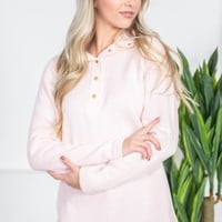 Charles River Pullover | Pink | Monogram