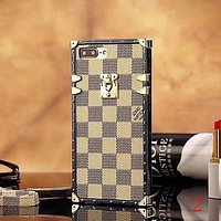 LV Louis Vuitton Fashion iPhone Phone Cover Case For iphone 6 6s 6plus 6s-plus 7 7plus 8 8plus X