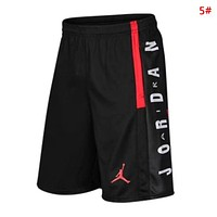 Jordan Fashion New Letter People Print Women Men Shorts 5#