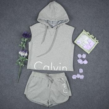 Fashion Calvin Klein Print Shirt Top Hoodie Sweatshirt Shorts2