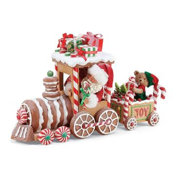Dept. 56 Christmas Traditions XMSPD Gingerbread Train – 6003861