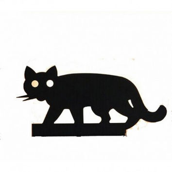 Modern nordic IKEA concise creative bedroom lovely cat wall lamp light wall sconce
