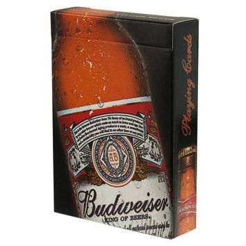 PEAPGQ9 Budweiser - Bottle Playing Cards