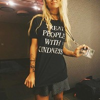 """""""Treat People With Kindness"""" Tee"""