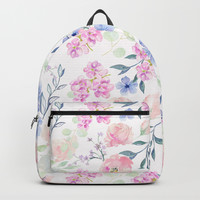 violet Backpack by sylviacookphotography