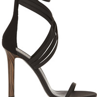 Tamara Mellon - Boom Boom leather and scuba sandals