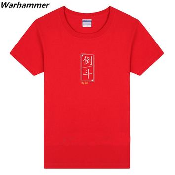 Warhammer New Men T shirt Print Time Raiders My Job Tee Shirt Homme Cotton O-neck Short Sleeve 3XL EU Size Women Fashion T-shirt