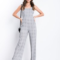 Laguna Plaid Jumpsuit