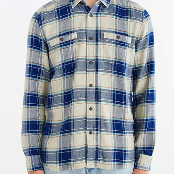 Stapleford Plaid Flannel Button-Down Shirt - Urban Outfitters