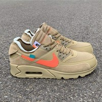 "Off-White x Nike Air Max 90 ""Desert Ore"" #AA7293-200"