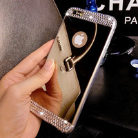 Super Shine Mirror iPhone 7 7 Plus 5s 6 6s Plus Case Cover Gift