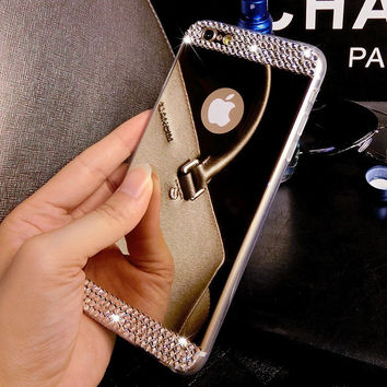 Super Shine Mirror iPhone 5s 6 6s Plus Case Cover Gift