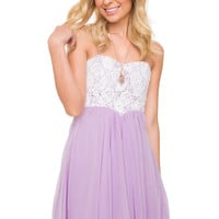 Paris Dress - Lilac