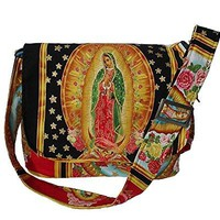 Hemet Guadalupe Virgin Mexican Messenger Bag IV